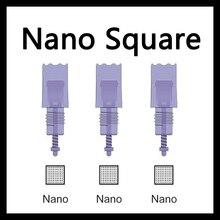 20pcs Nano Needle Square Cartridge Nano Needle MTS for Artmex V8 V6 V3 digital machine tattoo machine