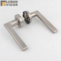 high quality 304 stainless steel handle Interior Split door lock handleHollowModern minimalist design
