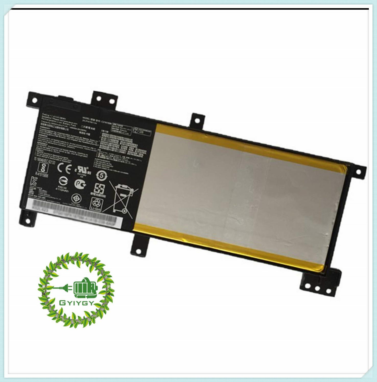 Batería del ordenador portátil para Asus C21N1508 (7,6 V 38Wh 4840 mAh) X456UJ X456UV X456UF serie portátil 0B200-0174000