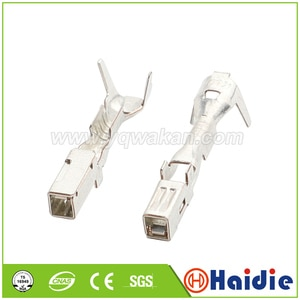 Free shipping 50pcs terminal for auto connector, crimp cable pins loose terminals DJ623A-2.2A