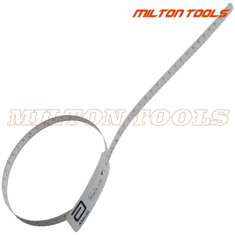 5 unids/lote cinta métrica de cabeza para circunferencia de cabeza cinta cefalic cinta métrica de cabeza infantil cinta métrica de circunferencia de cabeza