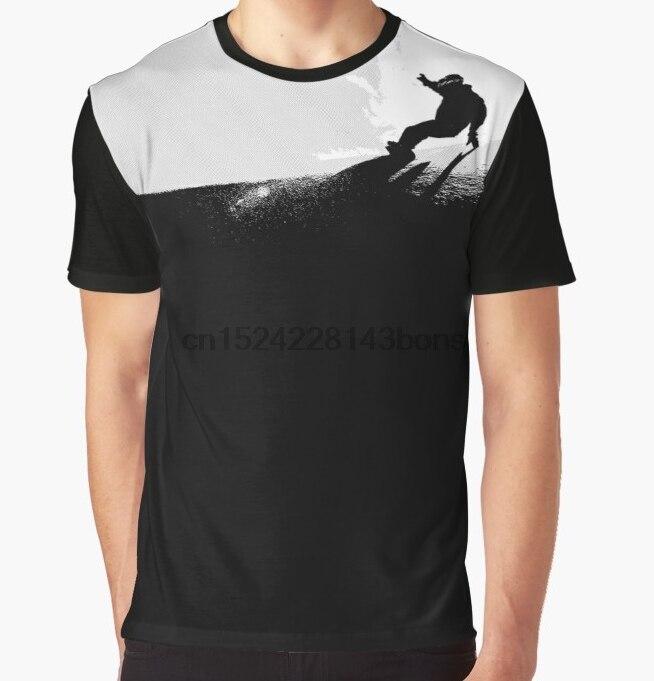 Todo T-Shirt Impressão Homens Funy camiseta Downhill Snowboard Gráfico de Manga Curta O Pescoço Tops Tee camisa das mulheres t