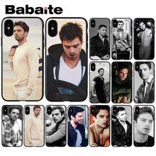 Babaite Sebastian Stan Muster TPU Weichen Telefon Zubehör Handy Fall für iPhone X XS MAX 6 6 S 7 7 plus 8 8 Plus 5 5 S XR