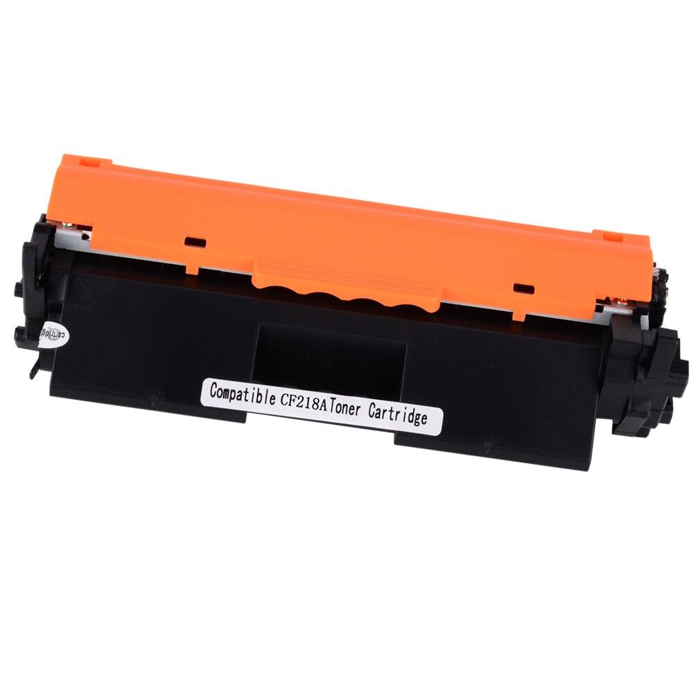 Cartucho de tóner negro 1x CF218A CF218 18A Compatible con impresoras HP LaserJet Pro M104a/104/132/132a/132nv/132fw