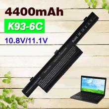 11,1 v 6 zelle 4400mAh Laptop Batterie A32-K93 K93 A41-K93 A42-K93 K93 für ASUS A93SV A93 A95 K95 A93SM a95VM K93SV K95VM