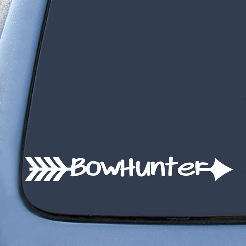 "Barganha Max Bow Hunter Deer Hunting Die Cut Adesivo Decalque Laptop Notebook 8 ""(Branco)"