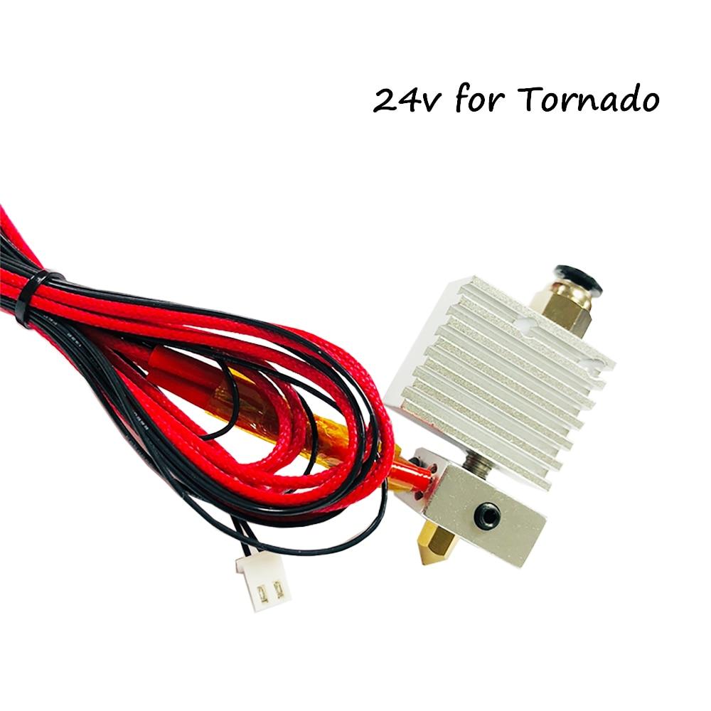 Детали 3d принтера TEVO 3d принтер Hotend экструдер для тарантула PRO для Торнадо вулкан Hotend для маленького монстра для вспышки