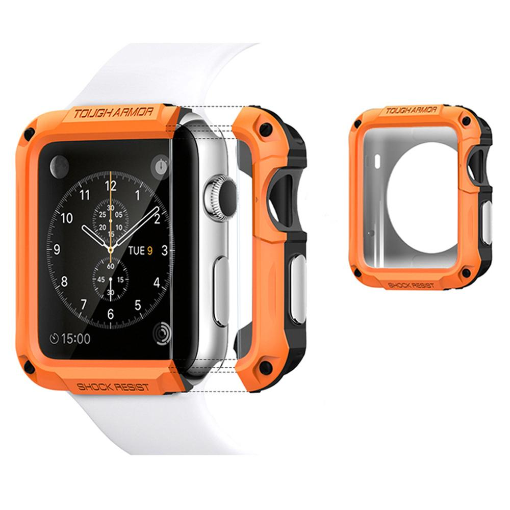 SGP Protector Cover For Apple Watch 6 SE Case 44mm 40mm 42mm 38mm PC Case For iwatch 6 5 4 3 2 Anti-