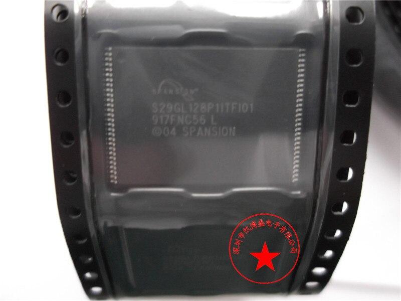 S29GL128P11TFI01 S29GL128P11TFI010 TSOP56 100% original nuevo stock genuino de memoria FLASH envío gratis Emax 10 unids/lote