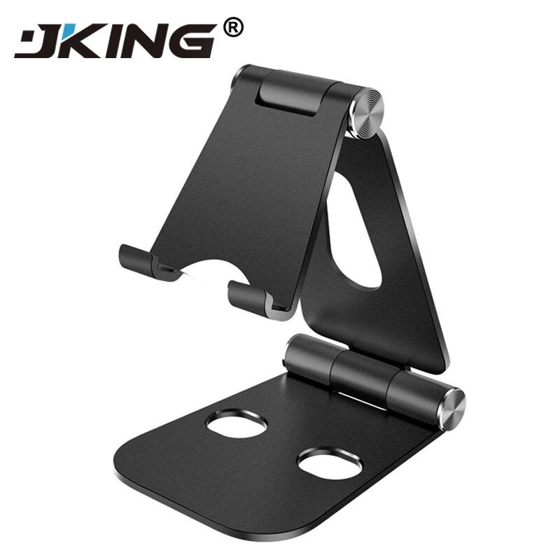 Soporte de teléfono universal JKING soporte de teléfono ajustable soporte de escritorio plegable para iphone X Samsung S8 S9 Plus Huawei