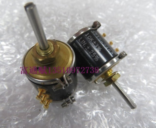 [VK] Imported E2B71-103-5905-01-150-3476 multi-turn potentiometer 3 laps 10k wire potentiometer switch