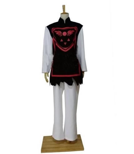coiffure inclus Protagoniste Toriel cosplay costume