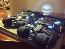 Retro Cool Batmobile Tumbler Crazy Case Voor iphone5s 5se 6 6S 7 8plus Stijlvolle Batman Licht Gratis Gehard glas De Dark Knight