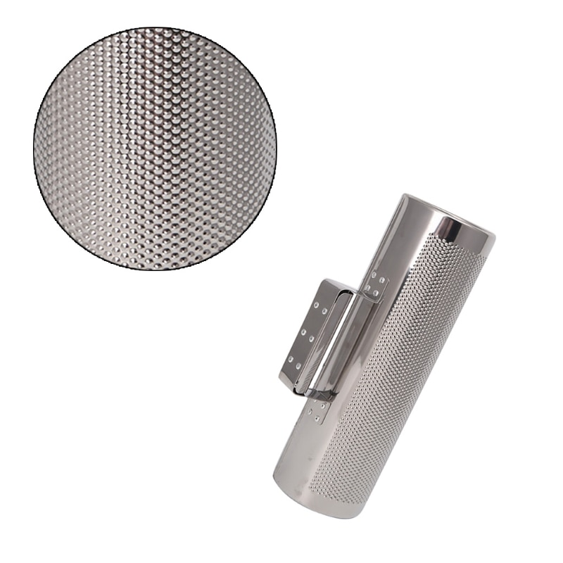 Stainless Steel Guiro with Scraper Percussion Musical Instrument Training Tool enlarge