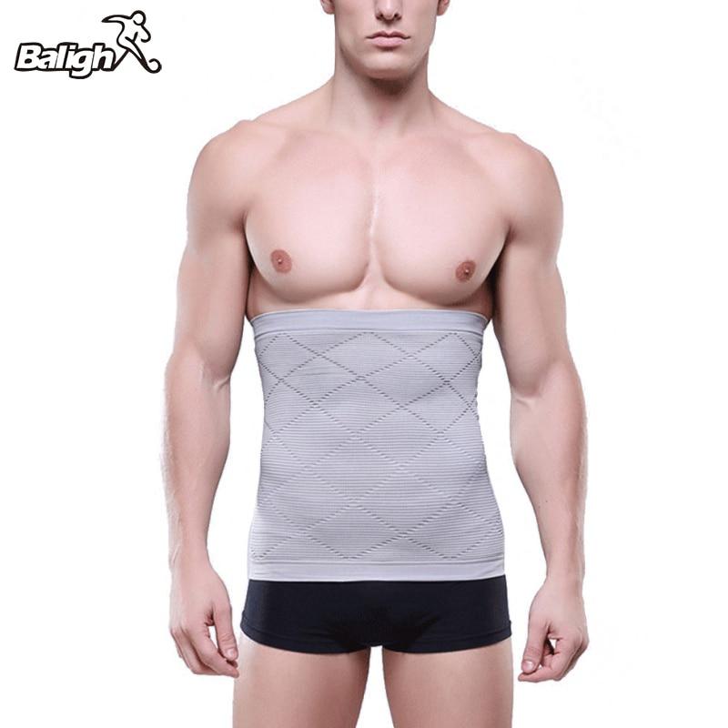 2018 modelador esculpidor de cuerpo ropa interior de vientre delgado para hombres faja vientre cintura cinturón faja