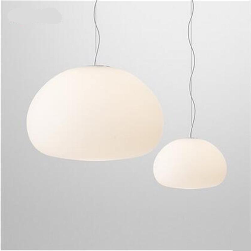 Claesson Koivisto Rune Glass Pendant Light Vintage Milk White Glass Led G9/E27 Pendant Light for Dining Room Restaurant 1551