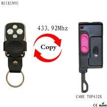 CAME TOP432S télécommande émetteur porte de Garage porte Fob CAME TOP432S 433.92mhz