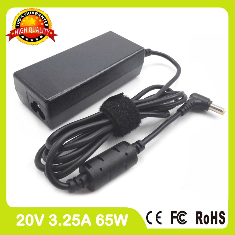 20 v 3.25a 65 w voor fujitsu siemens esprimo mobile v5515 v 5535 laptop charger ac adapter voeding