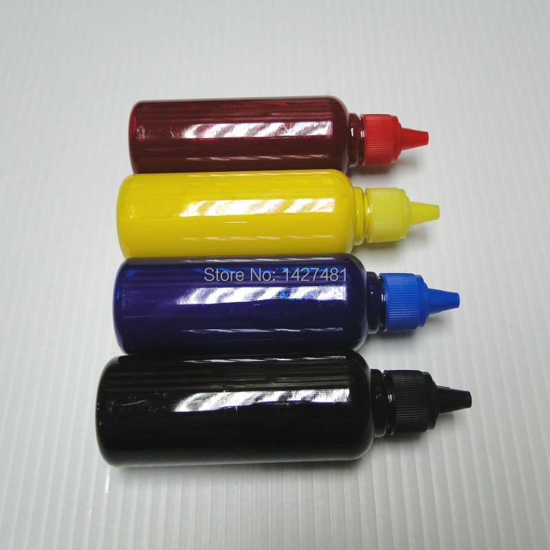 YOTAT 4*100ml de tinta de pigmento para hermano LC101 LC103 LC109 LC107 LC105 LC110 LC111 LC113 LC119 LC117 LC115 LC121 LC123 LC129 LC127