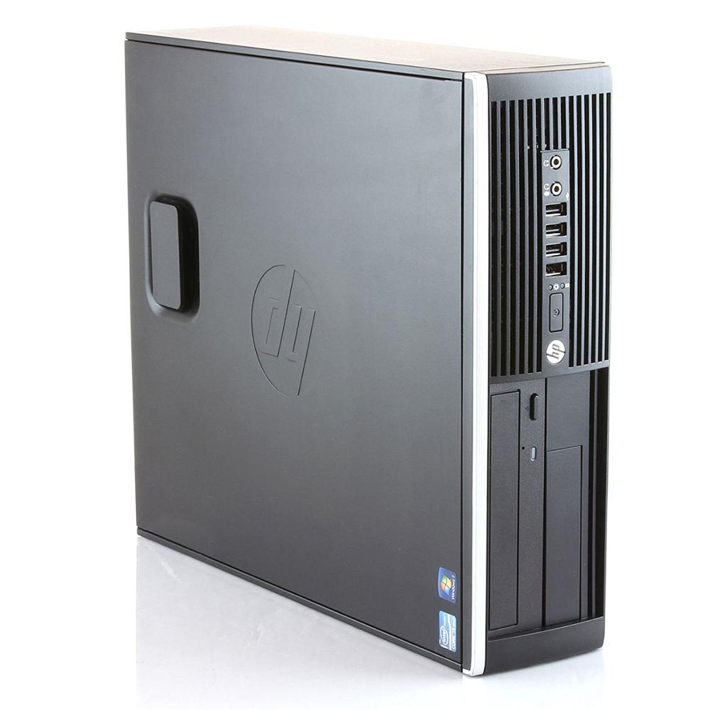 Hp Elite 8300 - Ordenador de sobremesa (Intel  i5-3470, 3,2,Lector, 8GB de RAM, Disco SSD de 960GB , Windows 7 PRO ) - Negro (Re