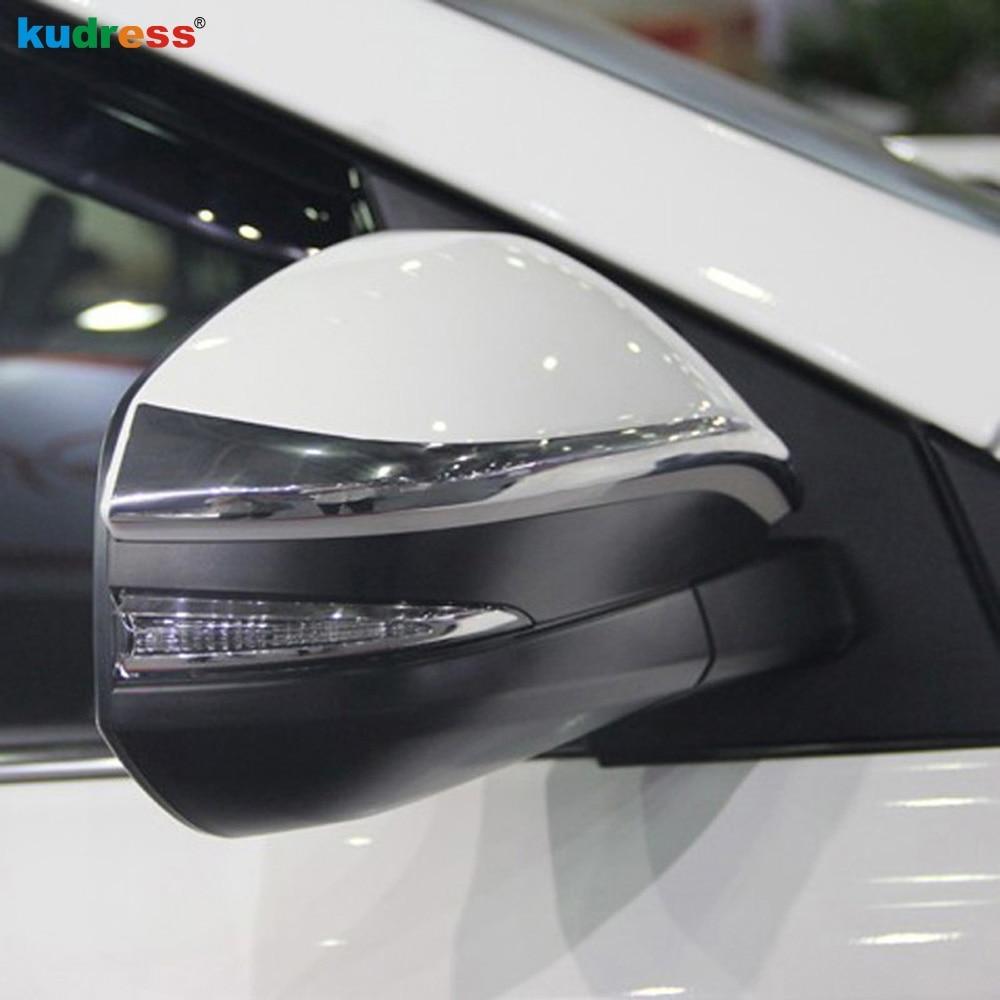 For Toyota RAV4 2014 Rain Shade Rainproof Blades car back mirror's eyebrow rain cover rearview mirror special cover decoration