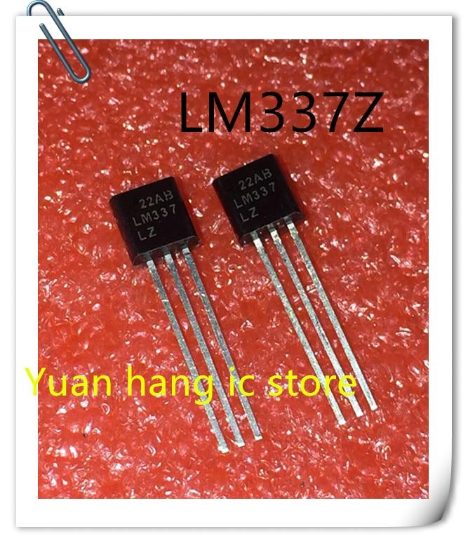 10PCS LM337LZ LM337L LM337 TO-92 NOVO