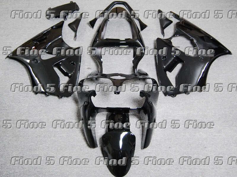 black for Kawasaki NINJA ZZR600 05-06 ZZR 600 2005-2006 05 06 2005 2006 ABS full motorcycle fairing kit