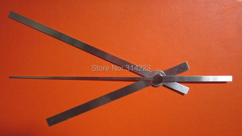 Movimiento del reloj de cuarzo 100 para la reparación de mecanismo de reloj DIY piezas de reloj accesorios de alta calidad de plata manecillas de reloj bz005-1