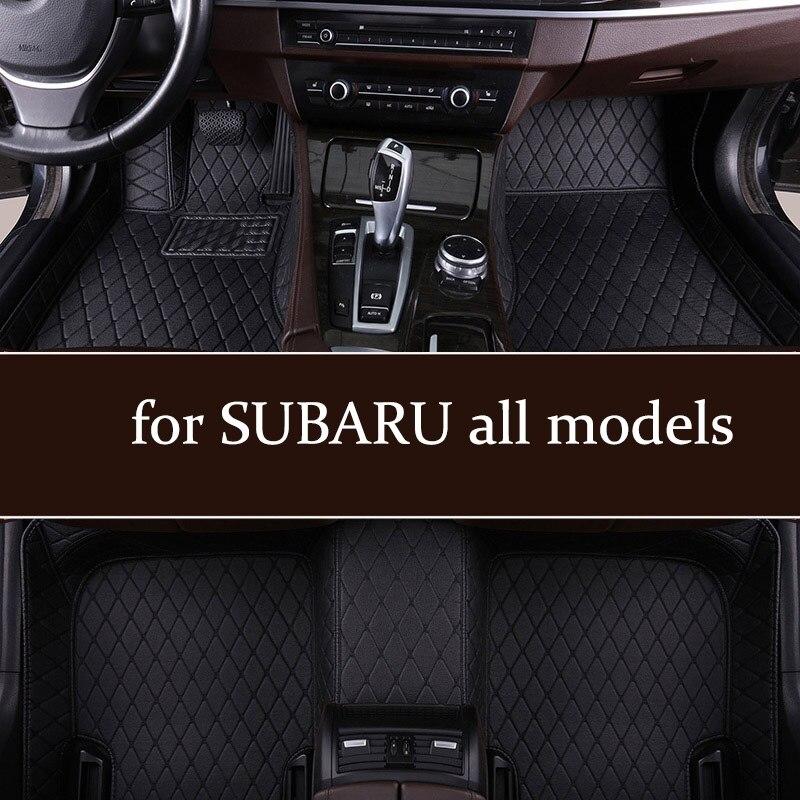Автомобильные коврики под заказ для SUBARU Forester 2005-2018s Outback 2003-2019s Legacy XV Wrx sti WRX Impreza BRZ Tribeca 2002-2019s mat