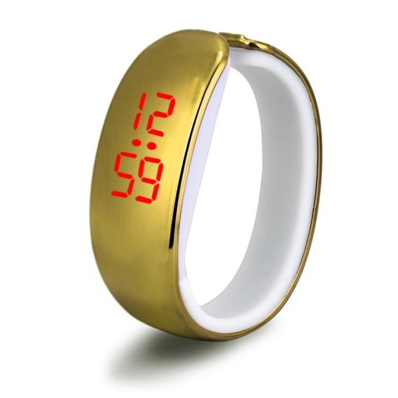 Reloj de pulsera de goma con LED, reloj de pulsera deportivo con estilo, HY J17W30 Digital Reloj de pulsera, venta al por mayor