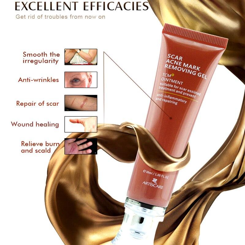 Extracto de Ginseng crema eliminación de cicatrices tratamiento para espinilla y acné blanqueamiento Ceam 30ml NShopping