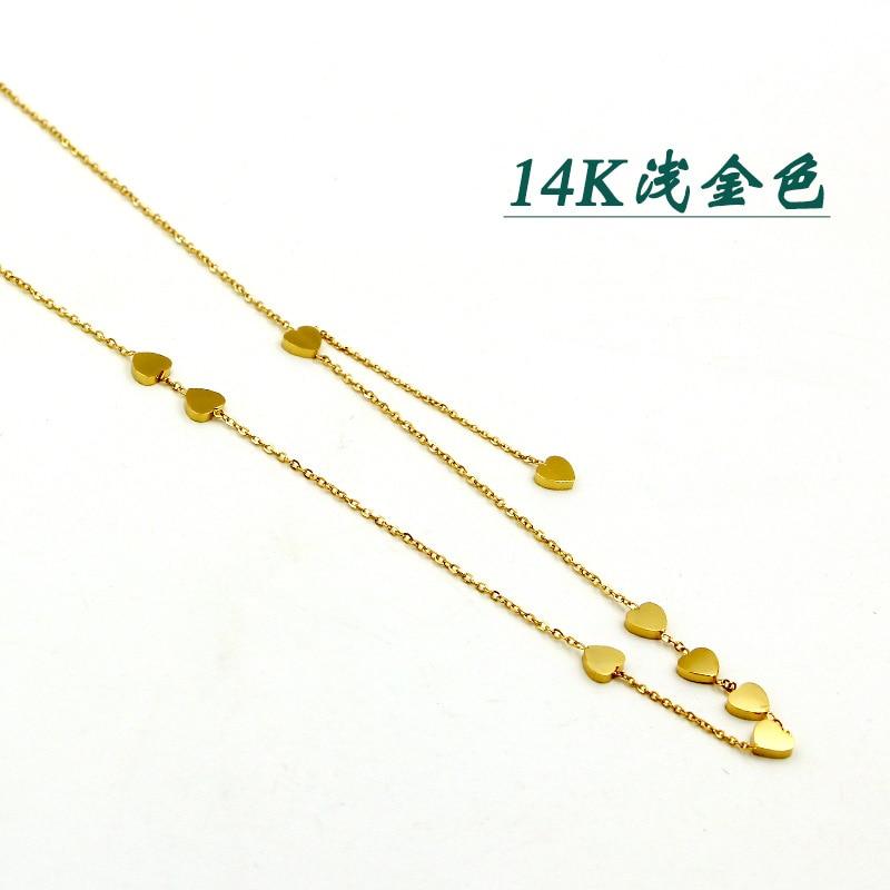 Collar Popular de moda para mujer, collar con tréboles de cuatro hojas, colgante de acero inoxidable con concha de perla, collares de ostra