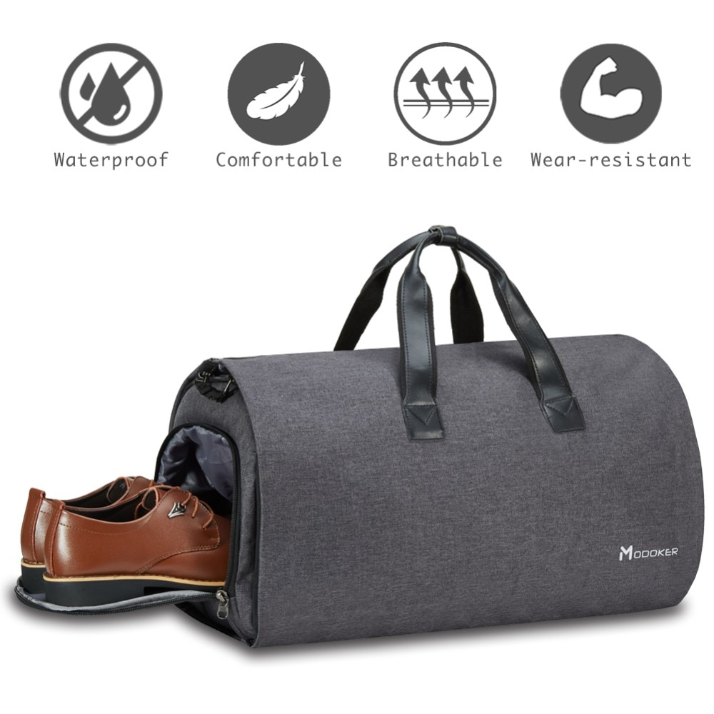 Modoker-حقيبة سفر من القماش الخشن مع حزام كتف ، حقيبة سفر ، حقيبة أعمال ، ملابس معلقة بجيوب متعددة ، جودة عالية ، أكسفورد ، مجموعة جديدة