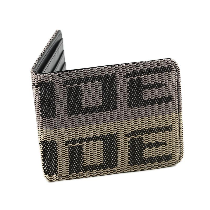 (Dropshipping) JDM Seat Belt Car Auto Wallet Money Purse Clip Racing Fabric Leather Canvas Key Case