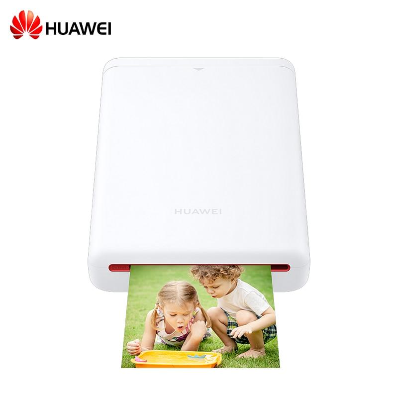 Huawei Mini Photo Printer Mobile Phone AR Zink 300dpi Portable Pocket Bluetooth Printer Color Share 500mAh Android iOS