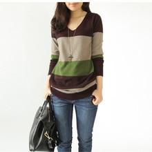 Outono inverno camisola moda lã cashmere longo vestido feminino fino quente blusas de malha pullovers blusas de caxemira feminino