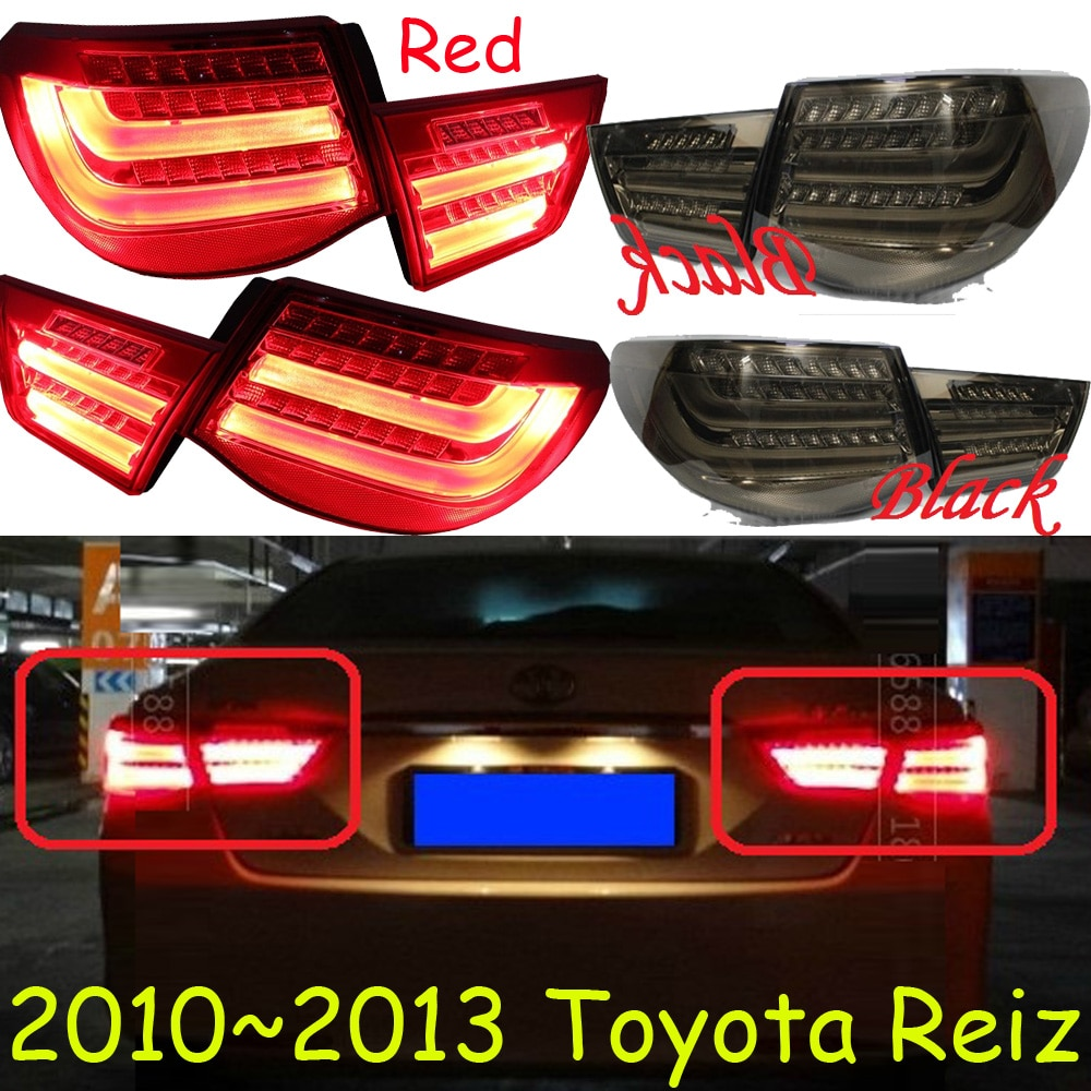 Luz trasera Reiz, 2010 ~ 2013; ¡envío gratis! LED, 4 unids/set, luz trasera Reiz; opcional color rojo/Negro, Luz antiniebla Reiz