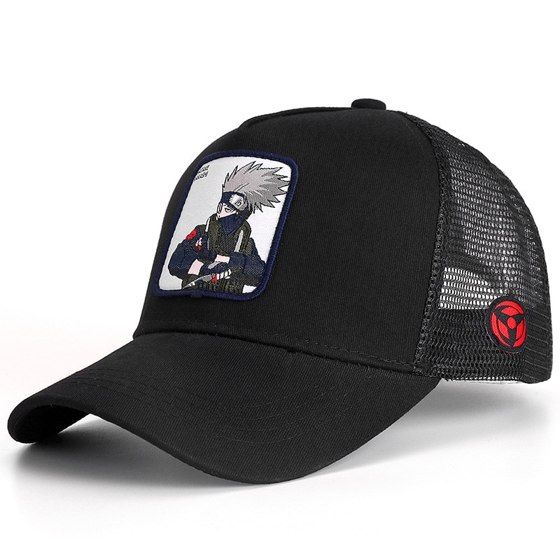 New Brand HATAKE KAKASHI Anime Snapback Cap Cotton Baseball Cap Men Women Hip Hop Dad Mesh Hat Trucker Dropshipping