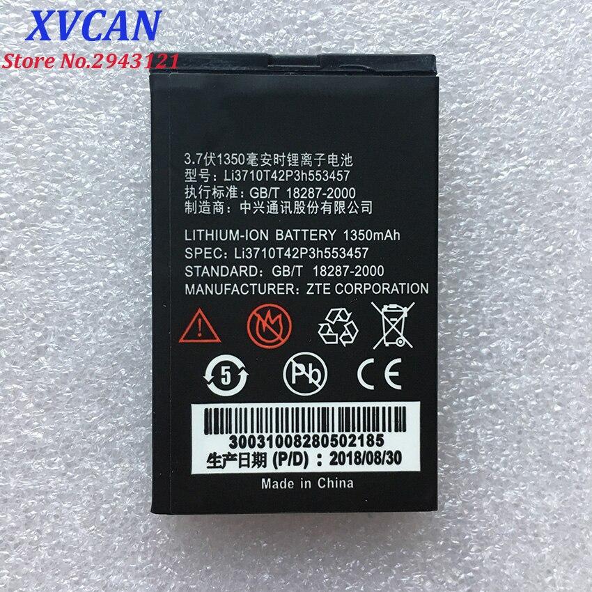 Nowy Li3710T42P3h553457 1350mAh oryginalny akumulator do ZTE S100 S189 C360 C361 N600 N606 C170 H520 V16 telefon komórkowy