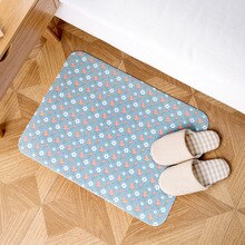 Bathroom Carpet Water Absorption Self-adhesive Dust Absorption Antislip Mat tapis de douche anti glisse Bath And Toilet Mats Set