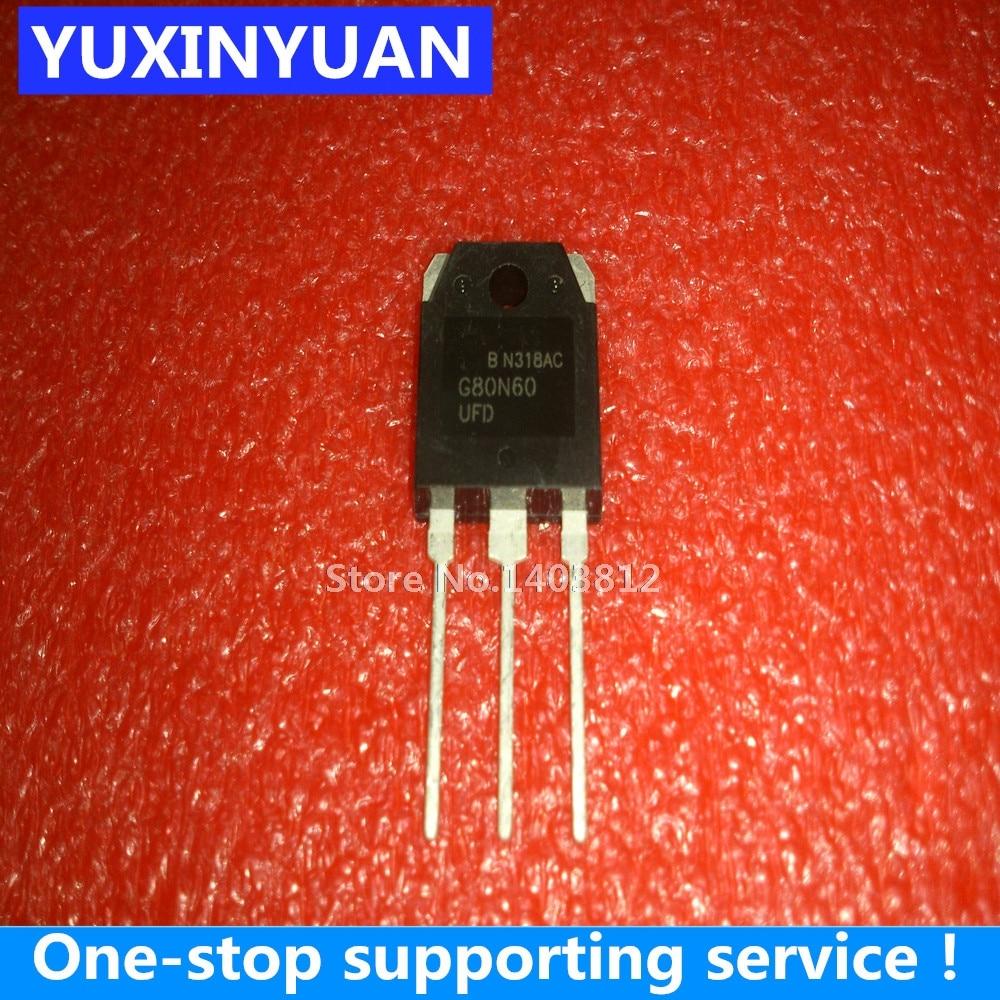 G80N60UFD  G80N60  80A600V  1PCS