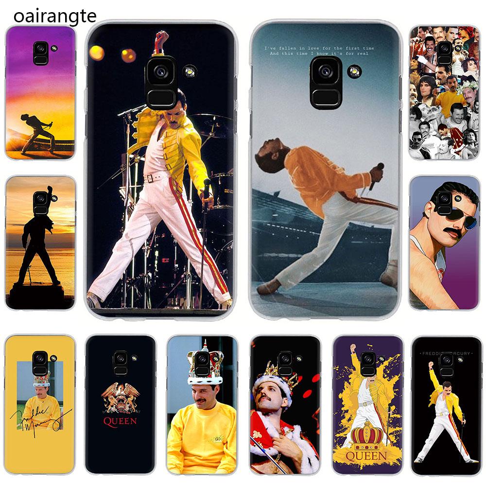 Freddie Mercury Queen band Hard phone cover case for Samsung Galaxy A3 5 2017 A6 7 8 9 2018 A10 30 40 50 70