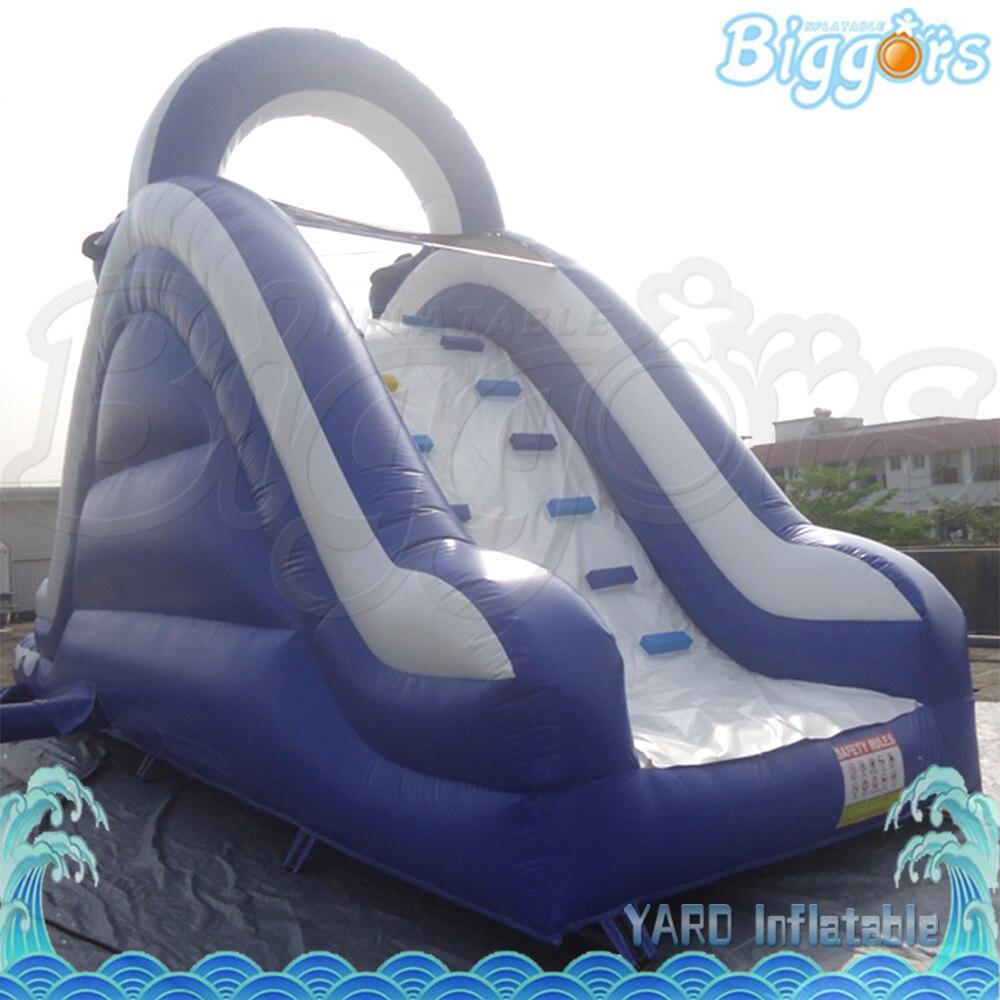 Tobogán acuático inflable gigante con tobogán acuático inflable para juegos de entretenimiento