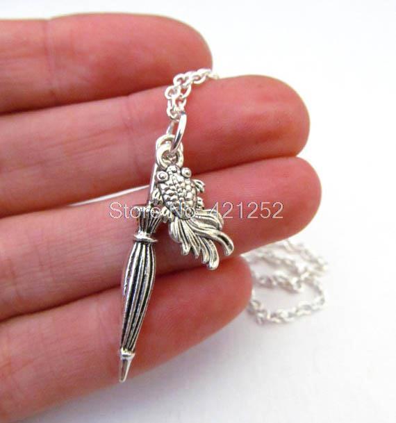 12 unids/lote Mystrade Mycroft Holmes collar inspirado en Sherlock holmes collar de joyería en plata