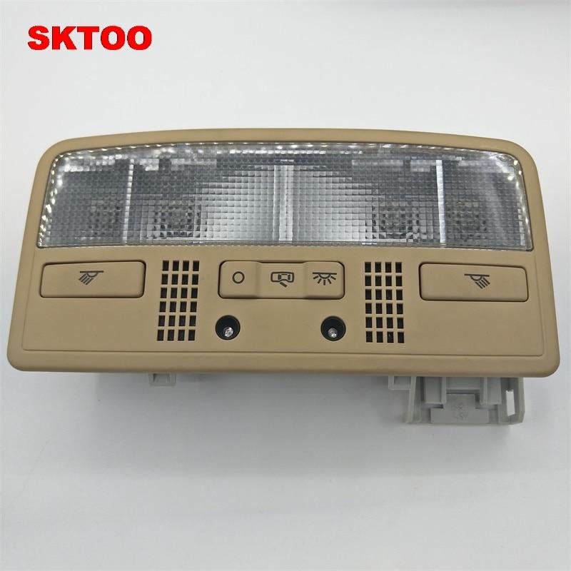 Sktoo para vw passat b5 para skoda octavia combi interior dome luz lâmpada de leitura cor bege 3bd 947 105 2en h67 7r3