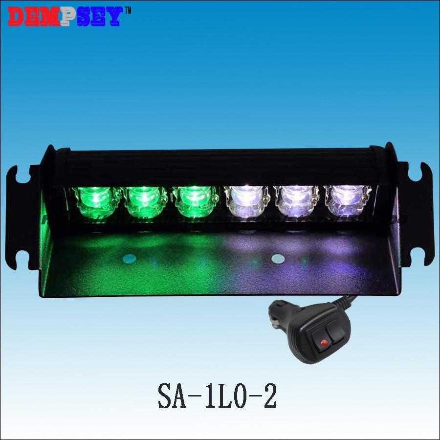 SA-1L0-2 Factory Direct Sale LED Warning Lights/Customized Green White LED Mixed Flashing Signal Lightbars/Warning Deck Lights