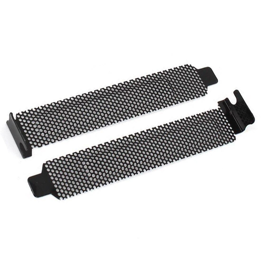 10 шт. Пылезащитный фильтр из твердой стали, крышка разъема PCI с винтами