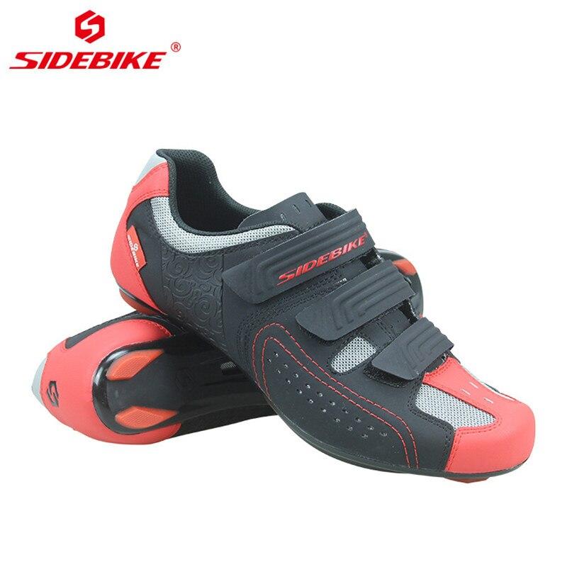 Nuevos zapatos de Ciclismo de carretera para hombres y mujeres, carrera profesional de bicicletas, zapatos transpirables antideslizantes con cierre automático, Zapatillas de Ciclismo, Bicicleta