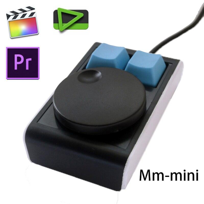 Usb não-linear software de edição de vídeo atalho chave quente mini teclado mecânico para ae pr fcpx edius suporte windows macos
