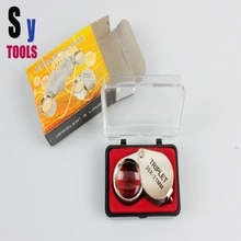 Nouvelle Loupe de poche en verre Mini Loupe pour taille-crayon ruixin Loupe de carte portable
